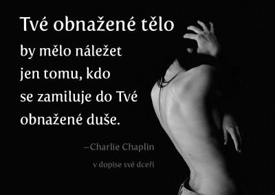 Chaplin o nahotě