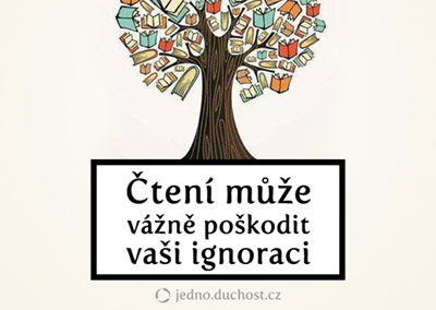 Pozor na čtení