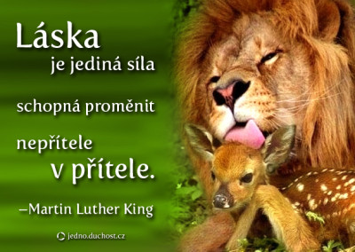 Martin Luther King o lásce