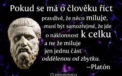 Platón o lásce