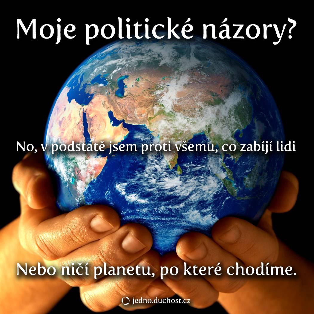 Moje politické názory
