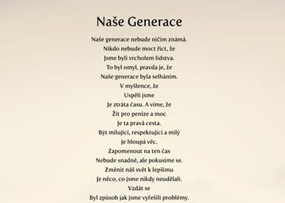 Báseň Naše Generace