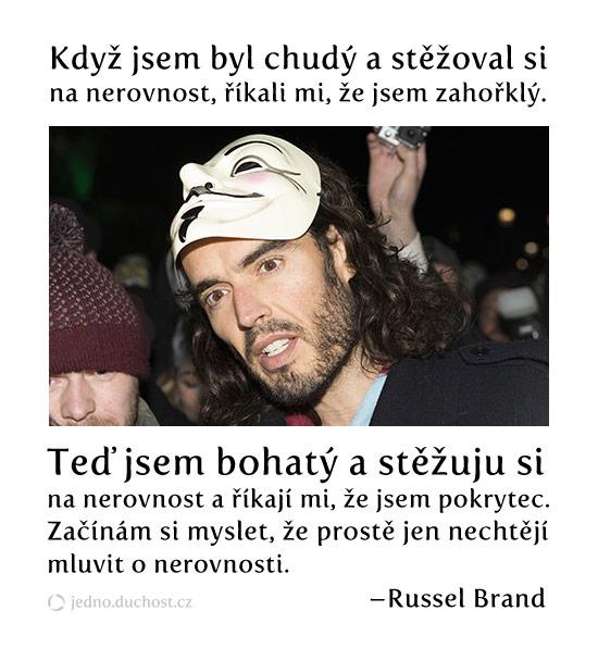 Russel Brand – nerovnost