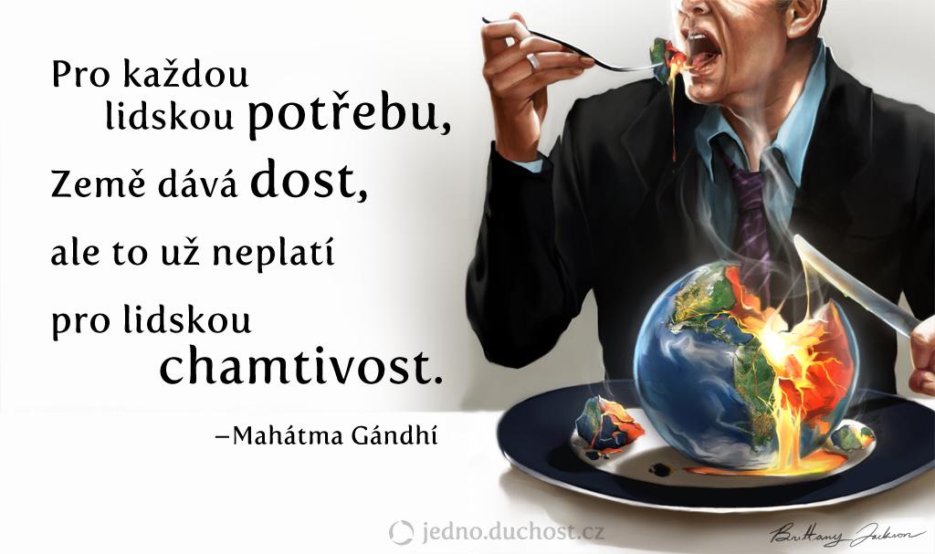 Gándhího citát