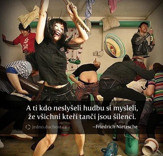 Nietzsche o neslyšících