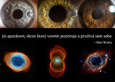 Jsi vesmírným aparátem