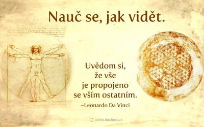 Da Vinci o propojenosti