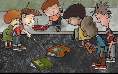 Děti neznalé knih?