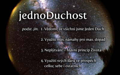 Co je jednoDuchost