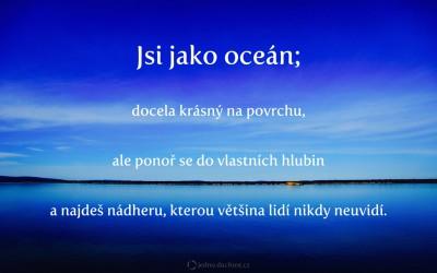 Jsi jako oceán