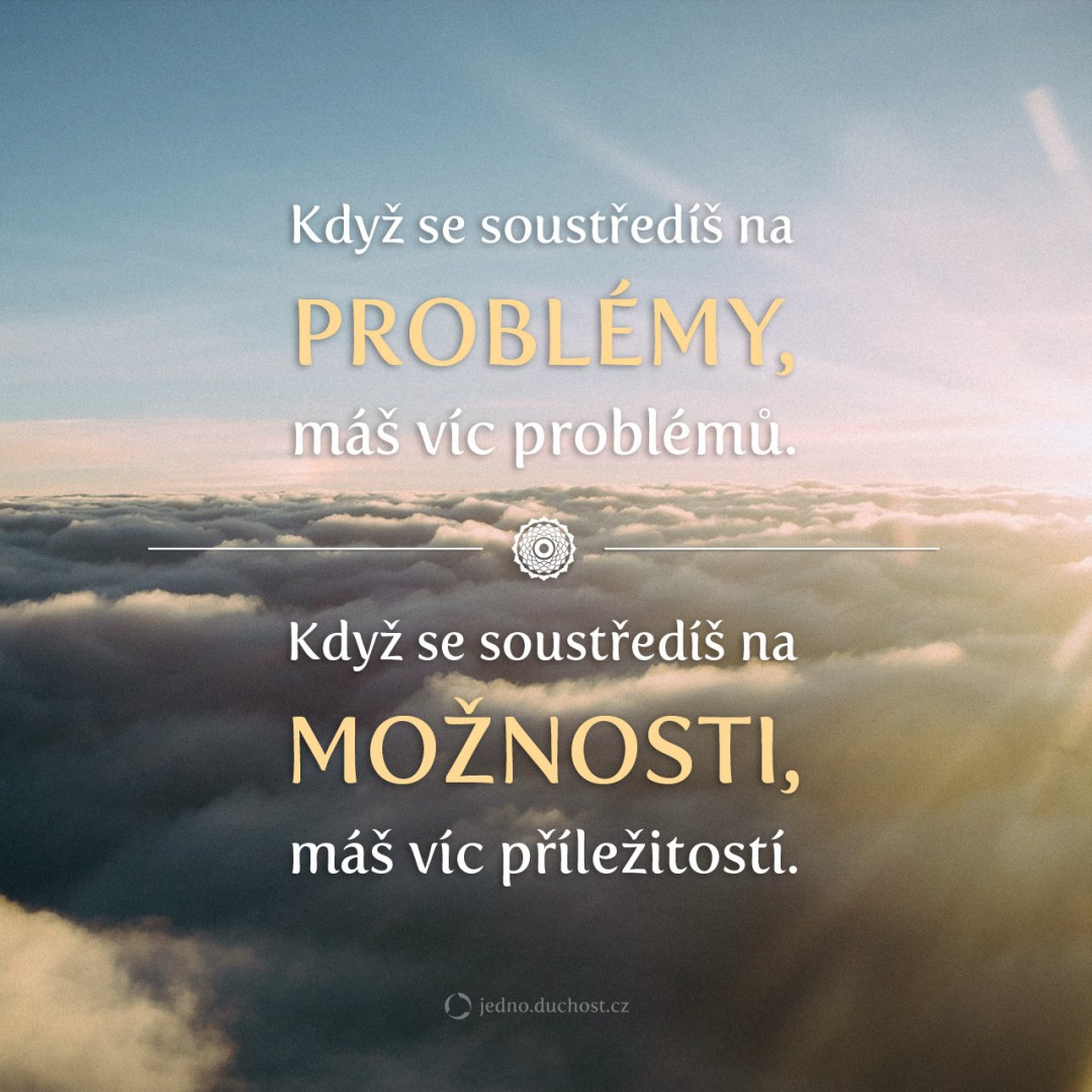 Problémy vs. možnosti