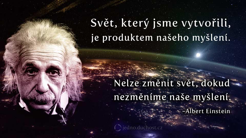 Einstein – svět a myšlení
