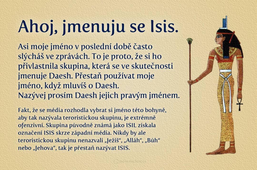 Já jsem Isis