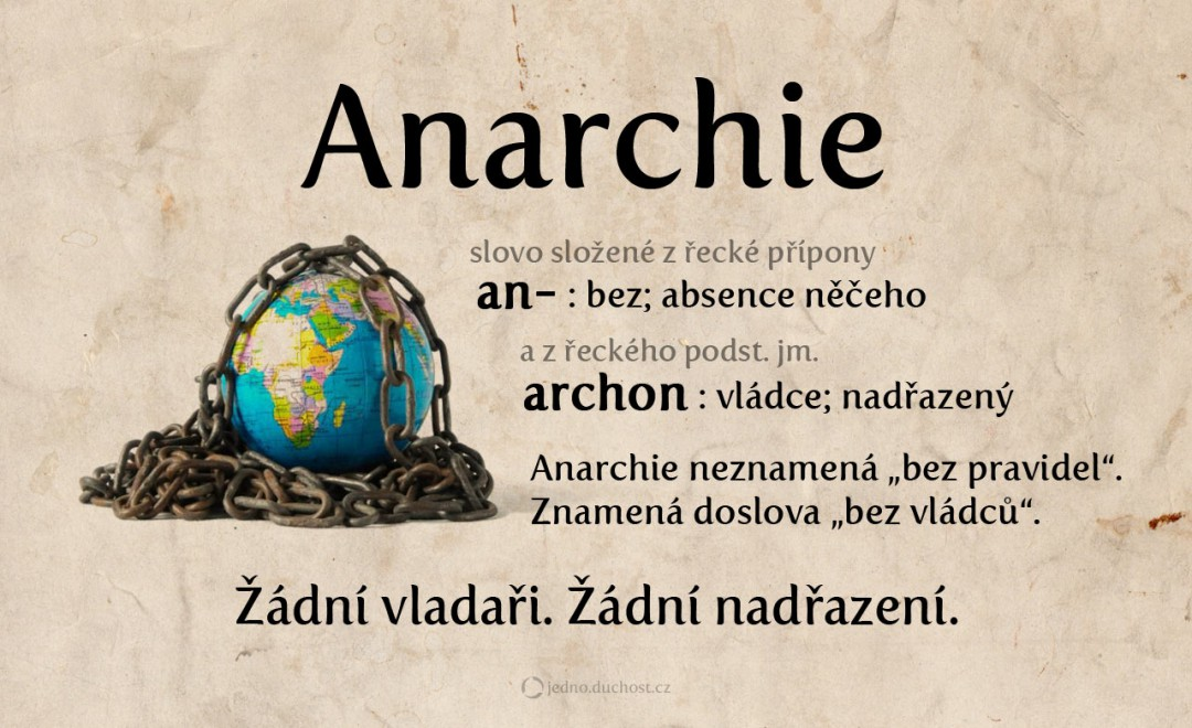 Co je anarchie?