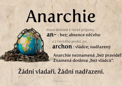 Co je anarchie?
